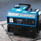 ♪発電機 60Hz用、スズキ・SX650RⅡ 整備済で快調、一発始動♪