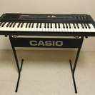 電子ピアノ CASIO スタンドとケース付き【現在お取引中】