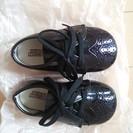 アメリカ製 靴 フォーマルシューズ 礼装 黒 ほぼ新品