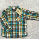 【新品・未使用】アンパンマンネルシャツ サイズ100
