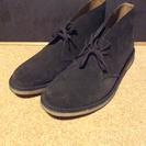 スウェード レザー チャッカブーツ 靴