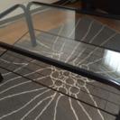 ガラス取り外し可能ローテーブル