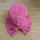 新品未使用・タグ付き 女児ツイード帽子 54㎝