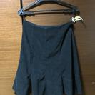 黒色秋冬用スカート