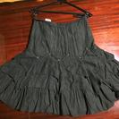 黒色秋冬用スカート②
