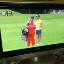 Panasonic 37型 プラズマテレビの画像