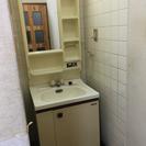 洗面台の取り外しと設置をお願いします