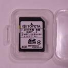 TOYOTA車用カーナビ地図データ (NSCP-W61)