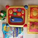 人気 美品 木と布のおもちゃ 知育玩具  ディズニー 福袋 4品