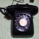 懐かしの黒電話10000円でお譲り致します。