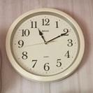 直径30センチ位の掛け時計