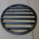 七輪コンロの交換用めざら サナ 直径10.5cm【中古 美品】