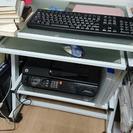 パソコンデスク★椅子つけます★