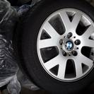 BMW E46 318Ci 純正 16インチアルミホイール タイヤ...