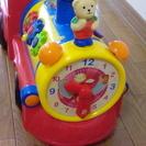 室内で使用 トイザらス 光と音の出る乗用玩具 時計つき 汽車 早...