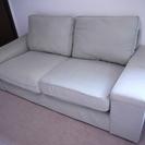 IKEA KIVIK (イケア シーヴィク) 布製 2人掛けソファ...