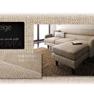 【美品】3人掛けソファ «OLIVEA» ラージサイズ ※オットマ...