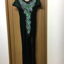 黒ロングドレス