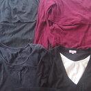 授乳服(授乳用トップス)5着+大き目のタンクトップ