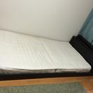 組み立て式 LED照明付きベッド(シングル) ニッセン製