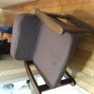 低めの椅子を無料で!!