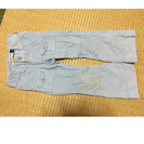 GAP110cmラメ水色ズボン