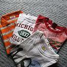男の子・サイズ110半袖Tシャツ