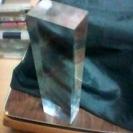 【受付終了しました】【お一人様取引完了】透明アクリル ブロック柱 ...