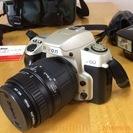 フィルム式一眼レフカメラ(Nikon F60)