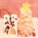 クリスマスツリーキャンドル&アロマサシェ レッスン予約受け付け中です☆