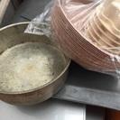 ケーキ焼き型15センチから、銅鍋、ボール、コロネ型有ります