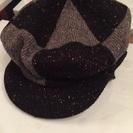 【美品】キャスケット帽子