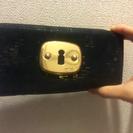 鍵穴の革のお財布