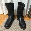 美品!【レッドウイング】 2268 エンジニア ブーツ 黒レザー ...