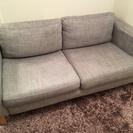 IKEA ソファー(専用クッション2個付き)