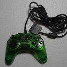 アスキーパッドV2グリーン PS用コントローラー