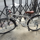 【完売】クロスバイク 27インチ