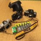 NIKON★ニコマート★フィルム一眼★3台セット★電池、フィルム...