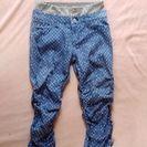 春夏用 160センチかS ドット柄のかわいいズボン