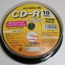 ALL-WAYS CD-R 10枚スピンドル 80min