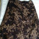 スカート 膝下 size40