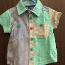 【値下げ】新品未使用  80㎝カラフル半袖シャツ