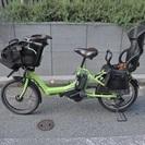 子乗せ電動自転車 2015年モデル 幼児2人同乗可