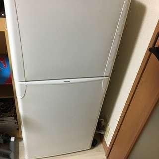 【受付終了】【TOSHIBA】2ドア冷蔵庫