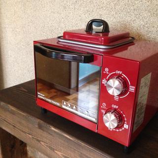 目玉焼きも同時に焼けるオーブントースター500円✨