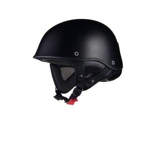 リード工業 バイクヘルメット ハーフ イーグルウィング マットブラック フリー の画像