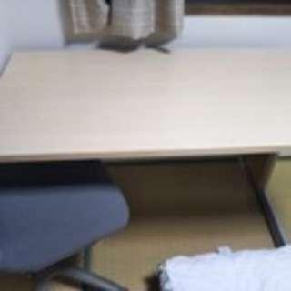 机といすのセット