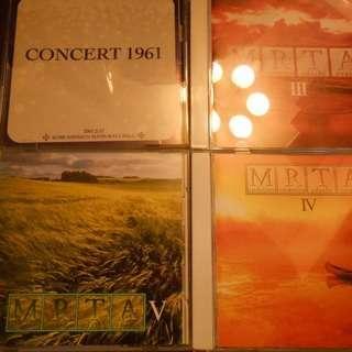 マンドリン音源CD(演奏会録音からPOP曲)
