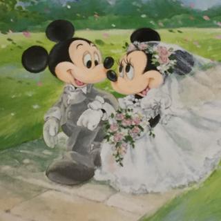ミッキーマウスとミニーマウスのジグソーパズル