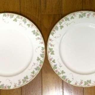 ノリタケ ディナー皿 2枚 未使用品です